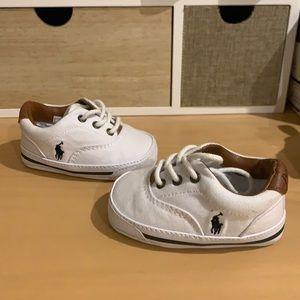 Baby Ralph Lauren polo shoes